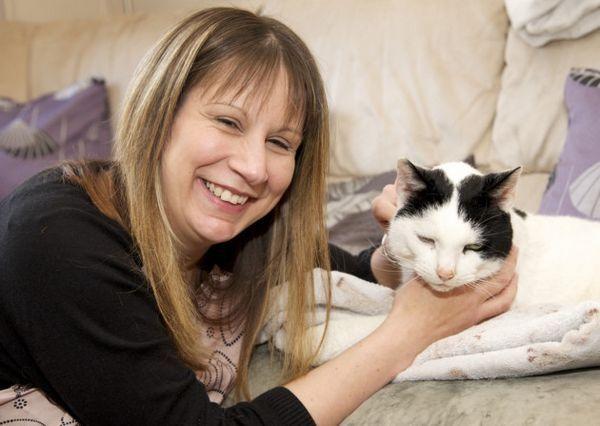 Gato de North Walsham se reunió con el dueño después de desaparecer durante seis años