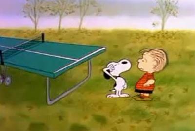 Snoopy acción de gracias